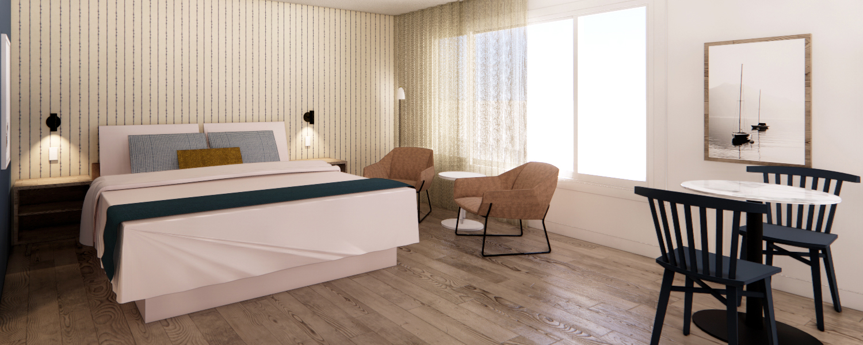 Rooms @ Sea Harbor Hotel San Diego